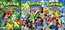 DVD Pokemon Season.3 + 4 + 5 DVD + Free Mystery Gift