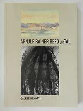 Arnulf Rainer Berg und Tal Galerie Menotti Dr Otmar Rychlik