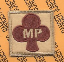 MP Co 327 Inf 101st Airborne HCI Helmet Cover patch C
