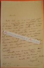 L.A.S MAUGUIN Dijon Beaune Saumur Avocat Empire Lettre autographe Pétition LAS