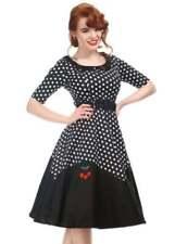 3/4 Sleeve Retro Dresses Midi