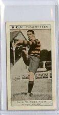 (Gs520-JB) Phillips BDV, Whos Who in Aust Sport, Ross / Butler 1933 EX
