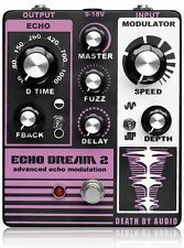 New Death By Audio Echo Dream 2 Guitar Effect Pedal Fuzz Delay from Japan F/S