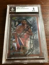 Allen Iverson 1996-97 Topps Finest #69 BGS 8 Rookie HOF