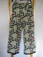 NWT - O'NEILL FREEDOM Series Snowboard Ski Snow PANTS Sz BOYS XL - Khaki color