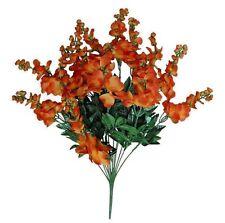 Orange Wisteria Bush Poly Silk Wedding Home Decor Craft Flower Filler New