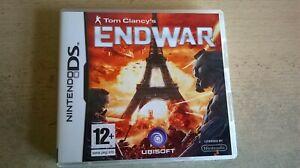 TOM CLANCY'S ENDWAR - STRATEGY NINTENDO DS GAME / LITE DSi 3DS - COMPLETE - VGC