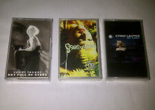 Cyndi Lauper - Lot 3x indonesia cassette 2 new 1 used -  madonna blue angel pink