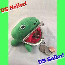 US Seller! Naruto Shippuden Frog Wallet Coin Purse Bag Plush Anime Cosplay