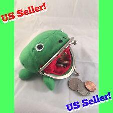 US Seller! Naruto Shippuden Frog Wallet Coin Purse Bag Plush Anime Cosplay