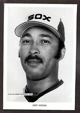 Jerry Hairston Sr WHITE SOX  UNSIGNED  7 x 10-1/4   ORIGINAL B&W STAFF PHOTO #1