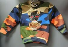 US Toddler / Baby / Kids Black Keys Stickup Artist Crew Neck Sweater - Camo