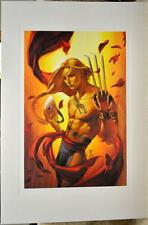 Street Fighter - VEGA LIMITED EDITION PRINT Capcom Arnold Tsang art