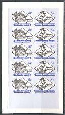 Norfolk Island Booklet Stamps