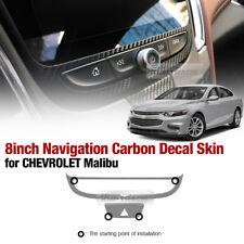 8 inch Navigation Carbon Skin Decal Sticker For CHEVROLET 2016 - 2018 Malibu