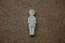 ANCIENNE FEVE - petite fille en robe plissée - biscuit-mat -