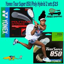 Yonex Tour Super 850/Poly Tour Strike Hybrid 2 sets