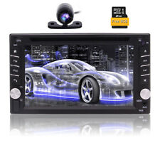WinCE 6.2 Inch 2 Din In Dash Car Stereo Wallpaper Android 6.0 + Rear View Camera