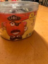 VTG HALLOWEEN PUMPKIN Mr. Potato Head PIRATE OUTFIT DECORATION K7