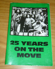 25 Years on the Move SC VF- philadelphia MOVE organization - afrocentric (2nd)