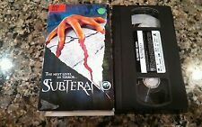 SUBTERANO VHS 2001 AUSTARLIAN HORROR! Innocent Prey Bloodlust Out Of The Body