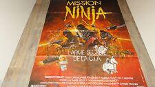 MISSION NINJA   ! affiche cinema