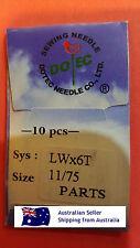 LWX6T 11/75 TITANIUM Industrial Blind Hem Machine Needles