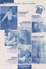 Blouson Zippé et 7 ouvrages. Avril 2000,Vintage Neuf, non découpé.
