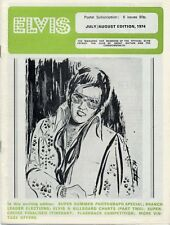 Elvis Presley Fan Club Magazine July/August 1974 CD