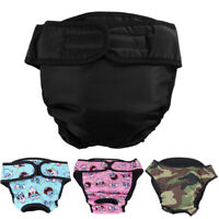 Female Pet Dog Puppy Diaper Pants Nappy Physiological Sanitary Panties Underwear