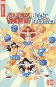 Red Sonja and Vampirella meet Betty and Veronica #5D Parent NM 2019 Stock Image