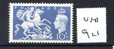 GB - GEORGE V1 - (G921) - 1951 - 10/-d blue - unmounted mint