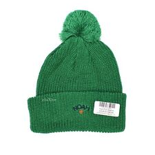 ce0e66858332b NWT Noah NY Green Core Logo Embroidered Pom Pom Beanie Knit Hat 2018  AUTHENTIC