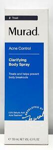Murad Clarifying Body Spray Treats And Prevent Body Breakouts 4.3oz / 130mL