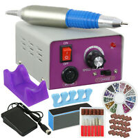 New Professional Electric Nail File Drill Manicure Tool Pedicure Machine Set kit