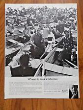 1963 Bulova Watch Ad  107 Ways to Hook a Fisherman