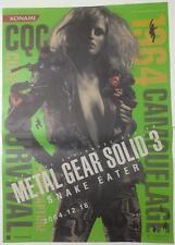 METAL GEAR SOLID 3 Poster 03