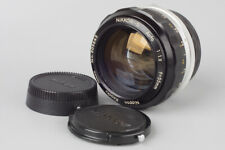 Nikon Nikkor S Auto 55mm f/1.2 f1.2 Manual Focus Prime Lens, For Nikon F Mount