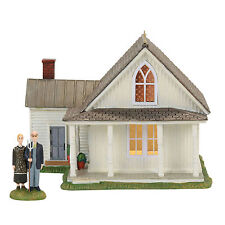 Dept 56 Nev American Gothic Lit House Set New 4056684 2017 D56 New England