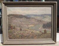 Erwin STARKER (Stuttgart 1872-1938) - Weiter Blick über die Schwäbische Alb