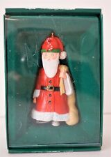 "Mary Engelbreit Christmas Pageant Collection ""S"" Santa Ornament 1986 Vintage Box"