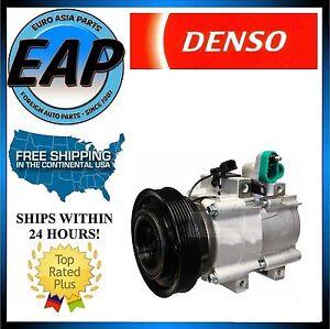 For 2001-2005 Santa Fe 2.7L V6 OEM Denso AC A/C Compressor NEW