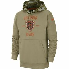 2019 Chicago Bears NFL Nike Salute to Service Hoodie (XL)