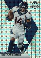Panini Football NFL Mosaic 2020 Card No. 71 Courtland Sutton Mosaic Prizm