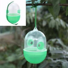 REUSABLE FLY BEE WASP CATCHER KILLER CAGE TRAP BUG PEST HANGING CATCHER STRICT