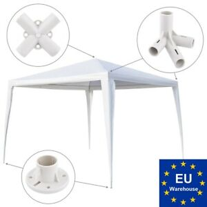 Replacement / spare parts for gazebo tent: feet corner center roof 4-way 25/19mm
