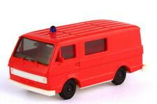 1:87 VW Volkswagen LT 28 Bus Mittelfenster Feuerwehr signalrot - herpa 4016