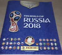 Panini WM 2018 Russia, Album komplett alle 682 Sticker + 9 McDonalds Sticker