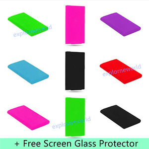 Silicone Soft Skin Case Cover for Apple iPod Nano 7th & 8th Generation - 7Colors