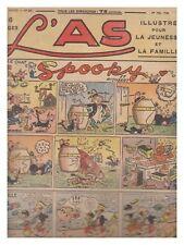L'AS N° 57 01/05/1938  BE-/BE TARZAN  CHARLOT ROI DES BOXEURS